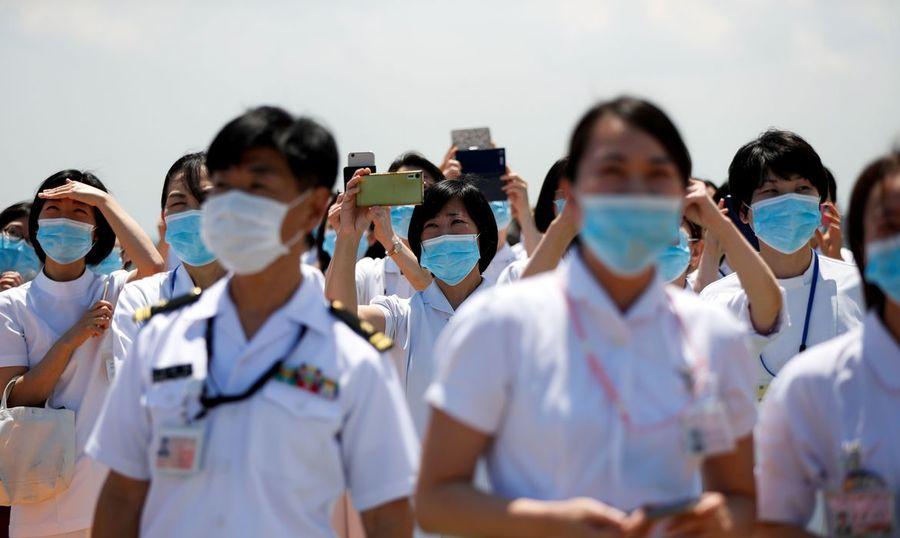 Center 2020 05 29t034844z 2061271581 rc23yg9j1bj5 rtrmadp 3 health coronavirus japan jsdf