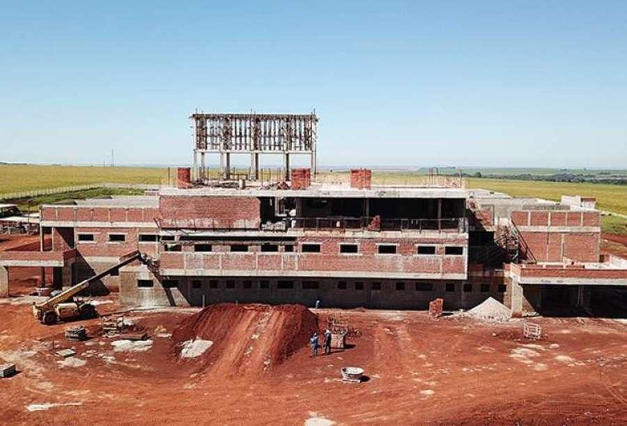 Center construcao do hospital
